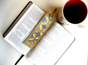 bookmarks diamond with bible