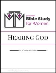 Hearing God: a Bible Study