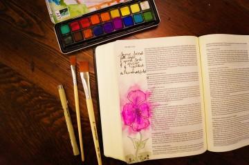biblejournalingflower