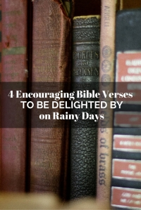 4 Encouraging Bible Verses