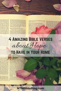 4 Amazing Bible Verses