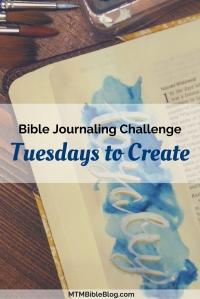 New Bible Journaling Challenge Series-