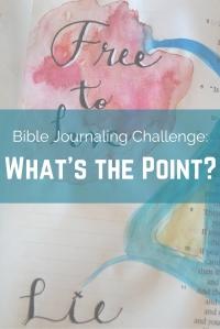 Bible Journaling Challenge- (1)